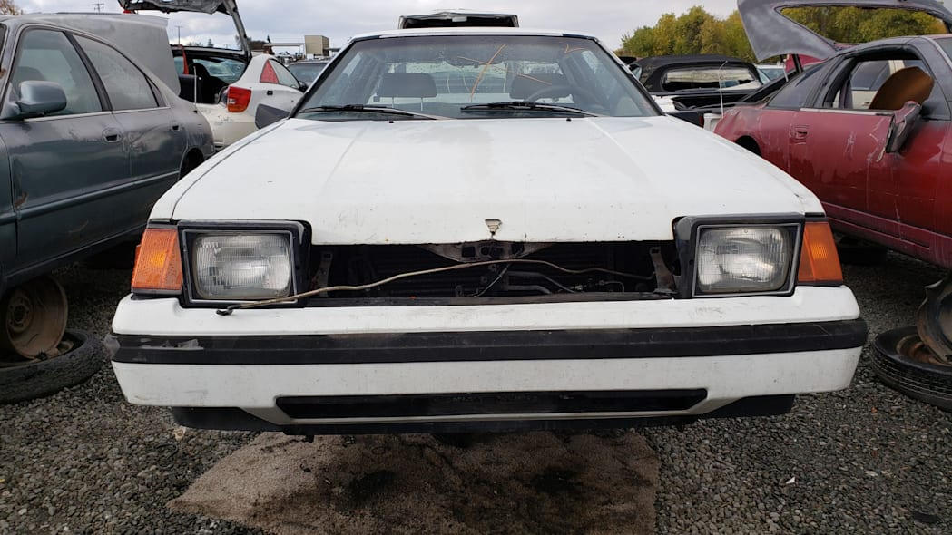 27 - 1983 Toyota Celica GT in California junkyard - photo by Murilee Martin