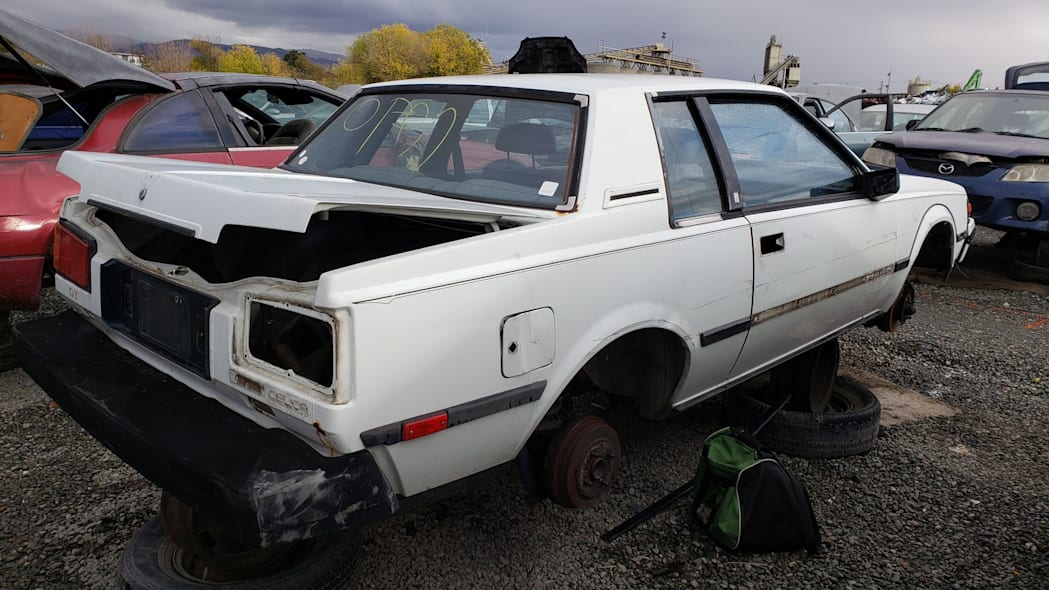 31 - 1983 Toyota Celica GT in California junkyard - photo by Murilee Martin