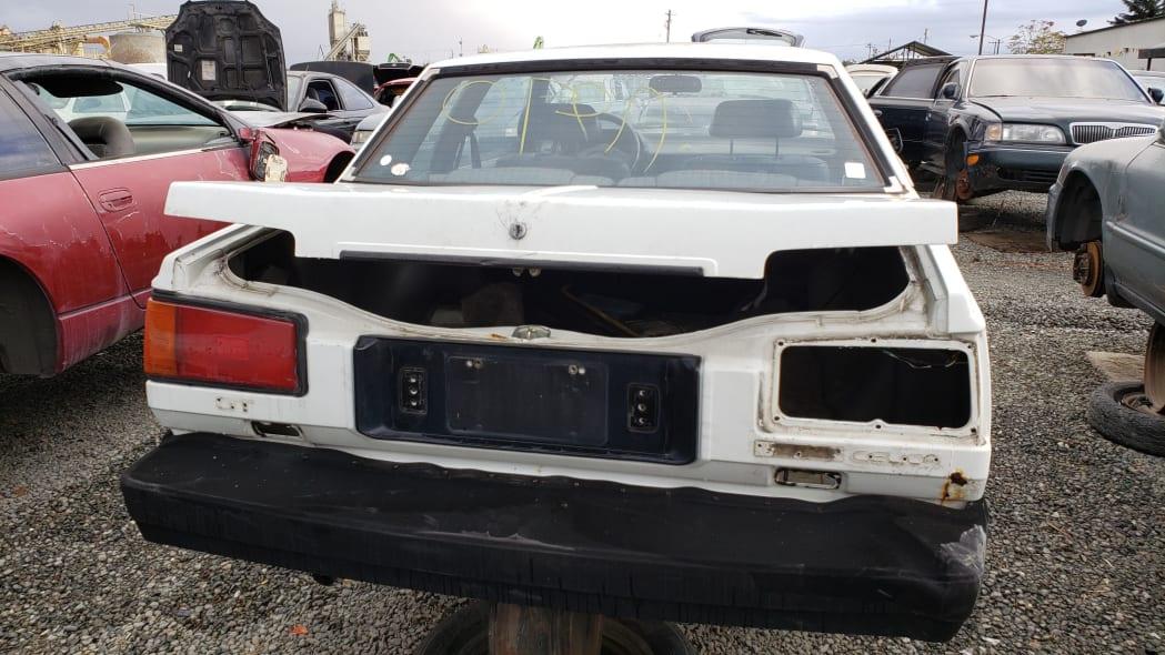 35 - 1983 Toyota Celica GT in California junkyard - photo by Murilee Martin