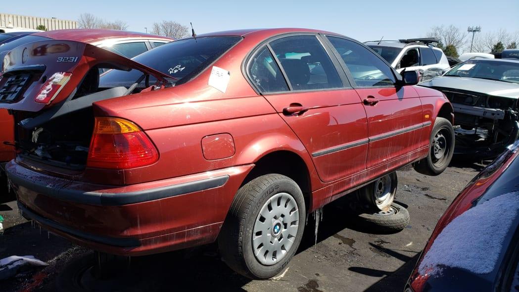 16 - 1999 BMW 323i in Colorado Junkyard - photo by Murilee Martin