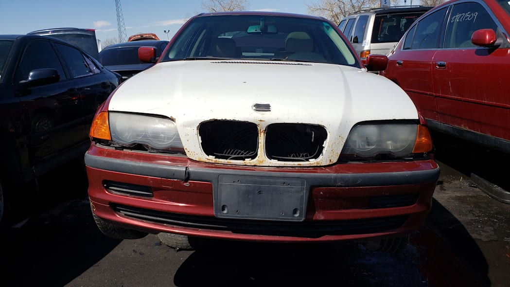 24 - 1999 BMW 323i in Colorado Junkyard - photo by Murilee Martin