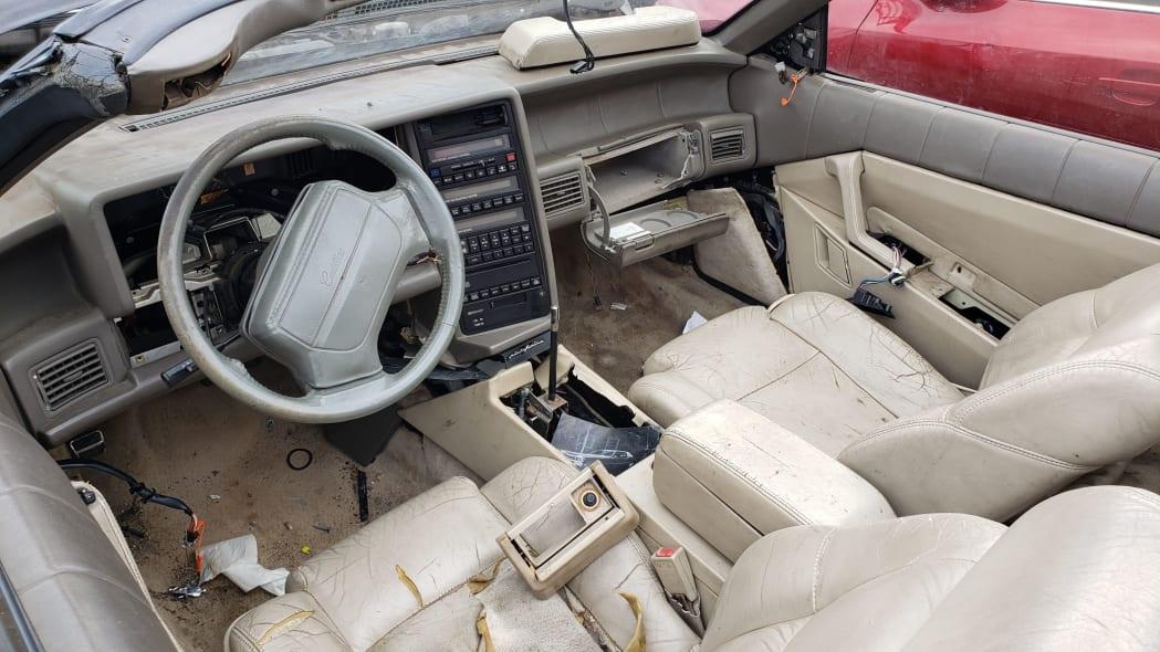 03 - 1993 Cadillac Allante in Colorado Junkyard - photo by Murilee Martin