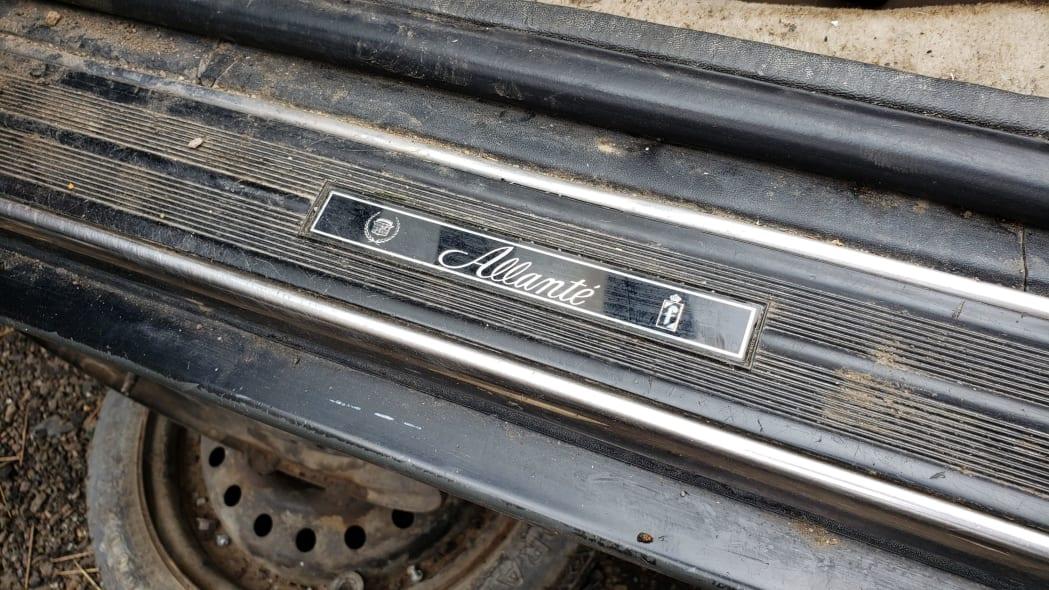 04 - 1993 Cadillac Allante in Colorado Junkyard - photo by Murilee Martin