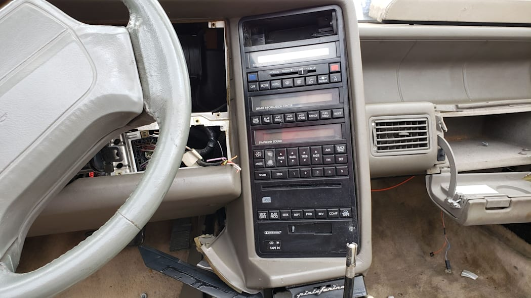 07 - 1993 Cadillac Allante in Colorado Junkyard - photo by Murilee Martin