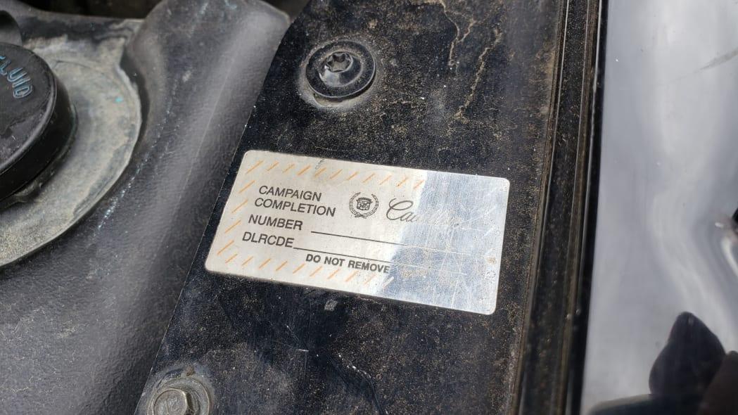 18 - 1993 Cadillac Allante in Colorado Junkyard - photo by Murilee Martin