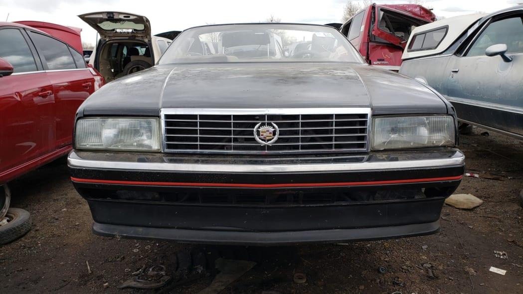 27 - 1993 Cadillac Allante in Colorado Junkyard - photo by Murilee Martin