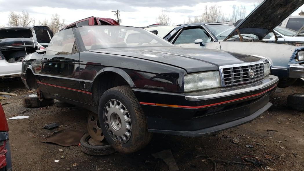 29 - 1993 Cadillac Allante in Colorado Junkyard - photo by Murilee Martin