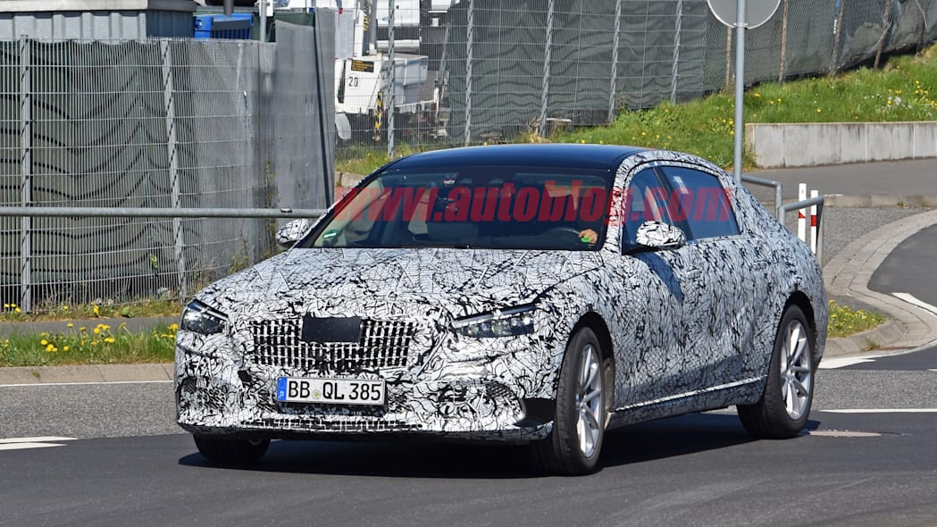 Mercedes-Maybach spied