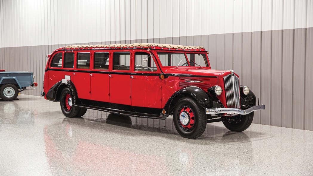 1936 White Model 706 Glacier National Park Tour Bus