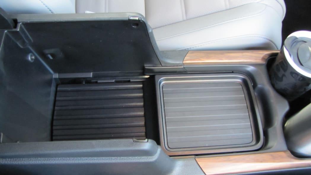 2020 Honda CR-V Interior Storage center console bin closed