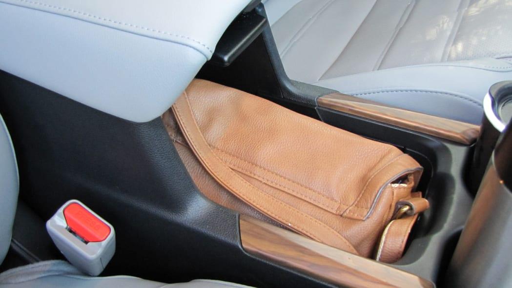 2020 Honda CR-V Interior Storage purse in center console