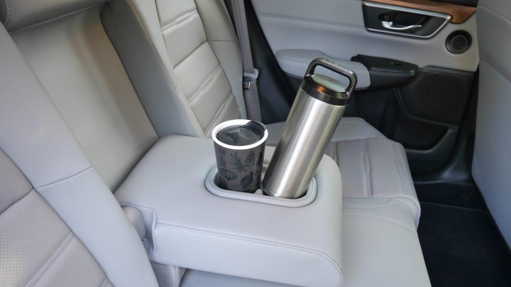 2020 Honda CR-V Interior Storage rear center armrest