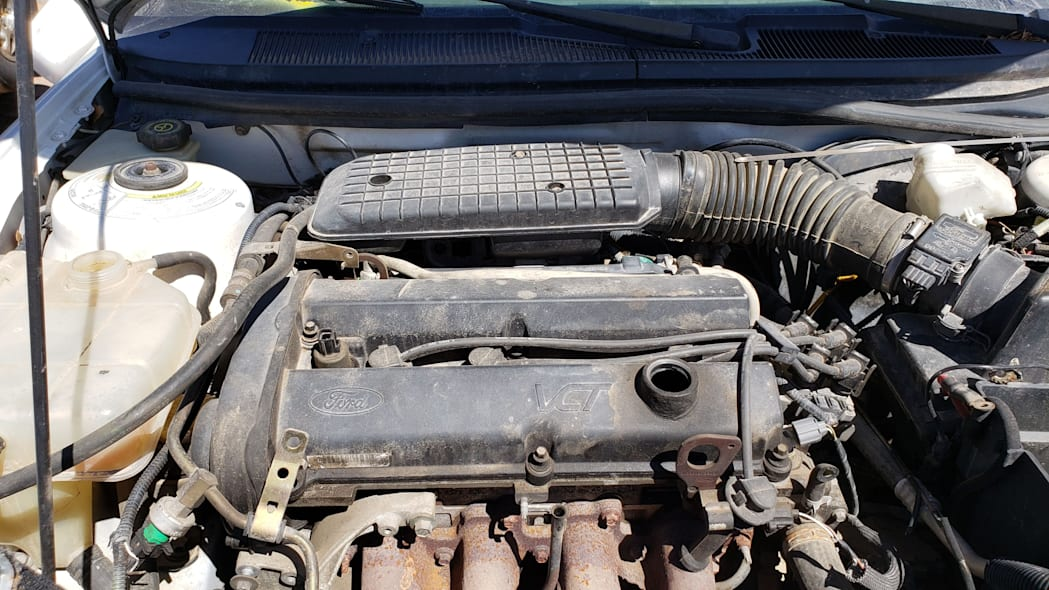 17 -1999 Ford Contour CNG in Colorado Junkyard - photo by Murilee Martin