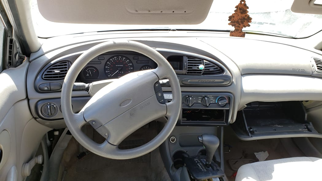 23 -1999 Ford Contour CNG in Colorado Junkyard - photo by Murilee Martin