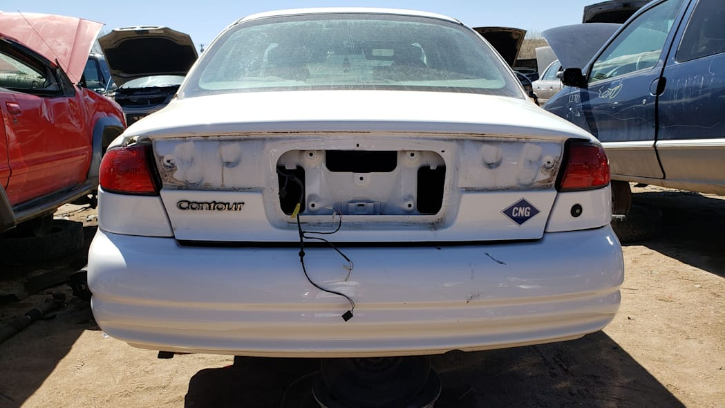 38 -1999 Ford Contour CNG in Colorado Junkyard - photo by Murilee Martin