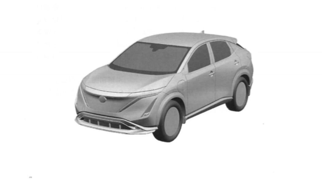 Nissan Ariya patent