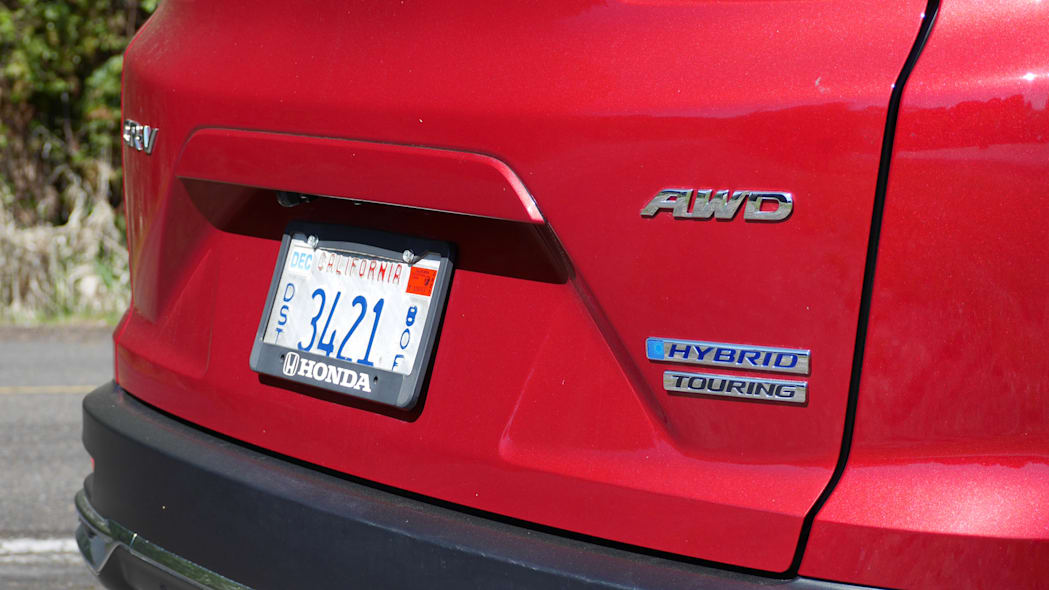 2020 Honda CR-V Hybrid badges