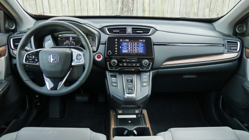 2020 Honda CR-V Hybrid dash