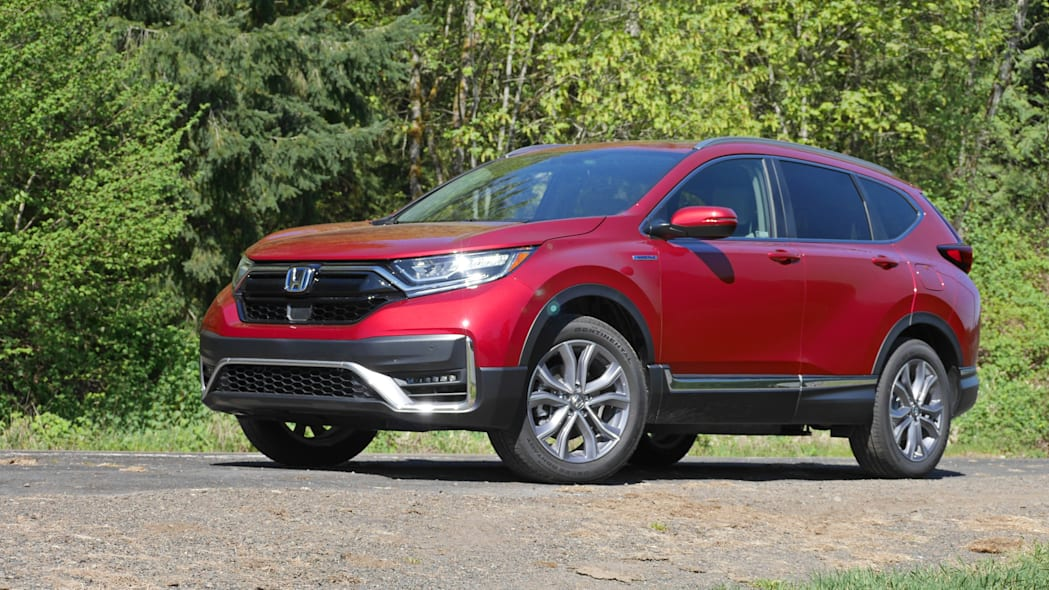 2020 Honda CR-V Hybrid front 1
