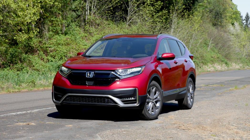 2020 Honda CR-V Hybrid front 2