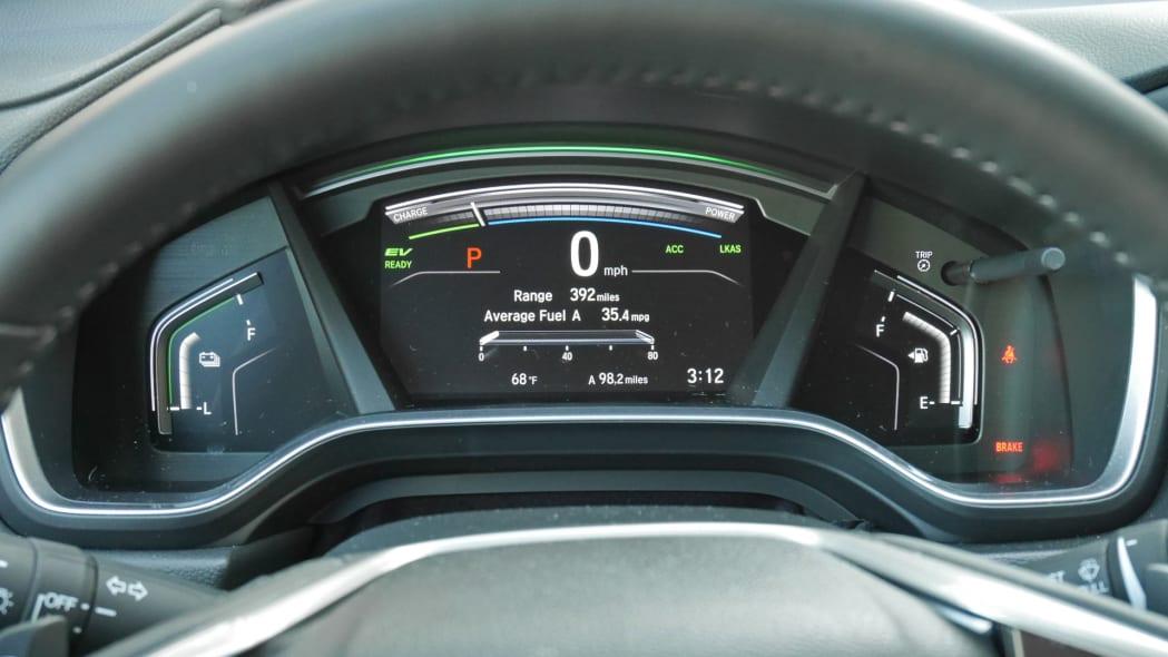 2020 Honda CR-V Hybrid gauges
