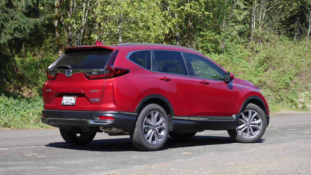 2020 Honda CR-V Hybrid rear 1