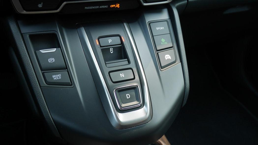 2020 Honda CR-V Hybrid shifter