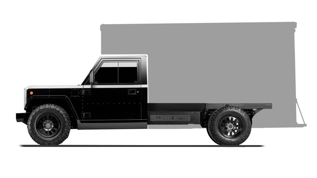 Bollinger Motors B2 Chassis Cab Box Truck