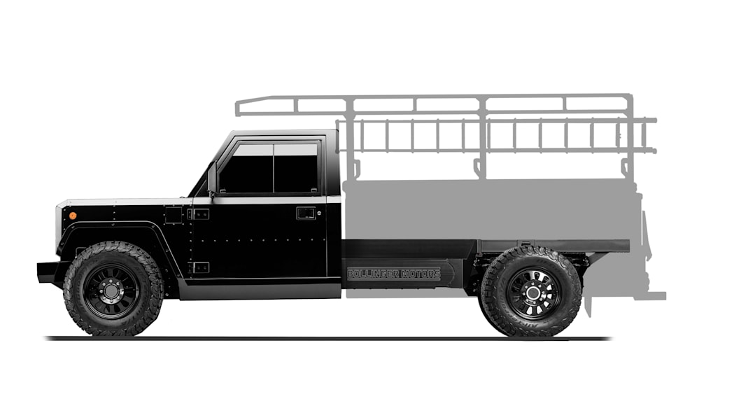 Bollinger Motors B2 Chassis Cab Contractor Truck