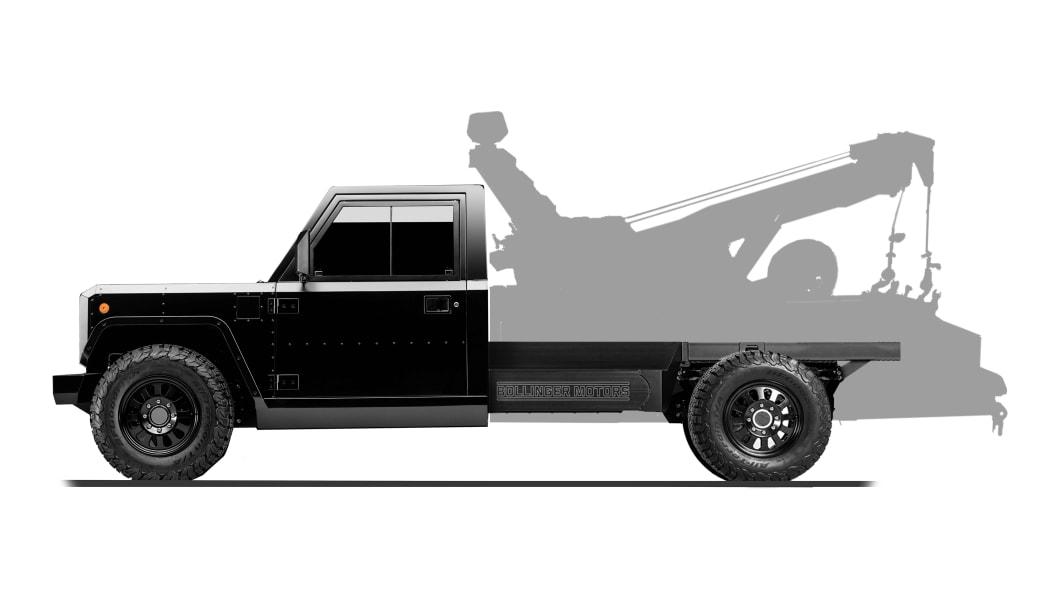 Bollinger Motors B2 Chassis Cab Tow Truck