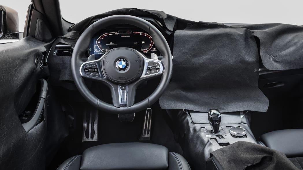 2021 BMW 4 Series prototype