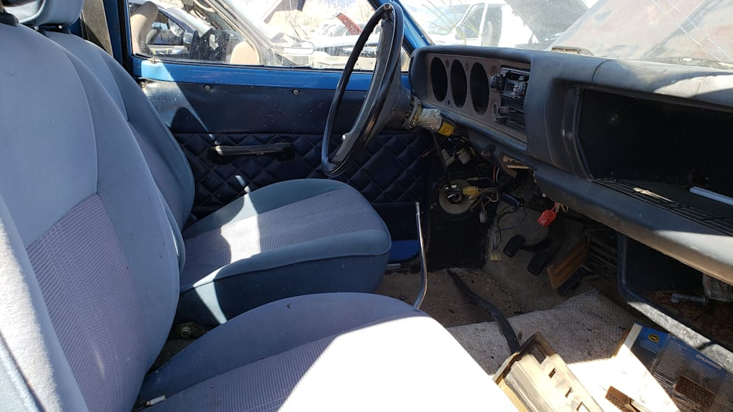04 -1976 Datsun 620 Pickup Truck in Colorado Junkyard - photo by Murilee Martin