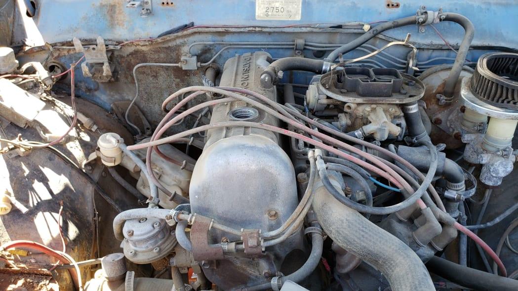 14 -1976 Datsun 620 Pickup Truck in Colorado Junkyard - photo by Murilee Martin