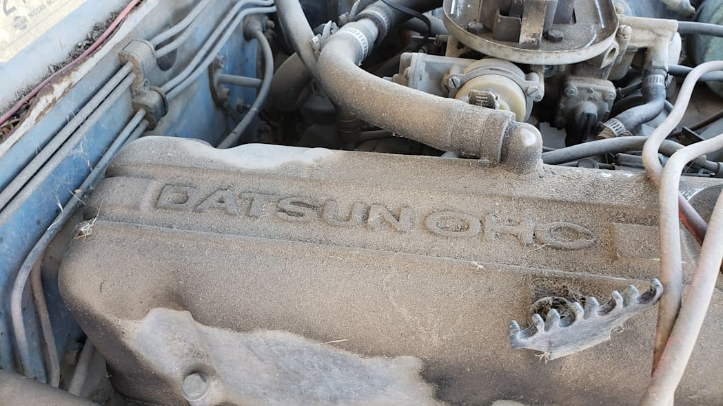 17 -1976 Datsun 620 Pickup Truck in Colorado Junkyard - photo by Murilee Martin