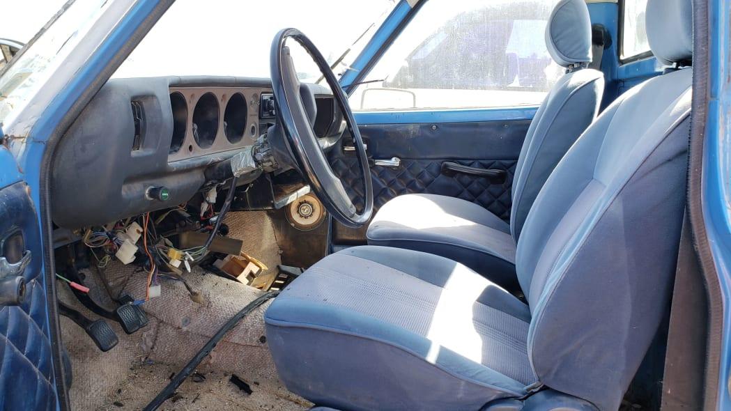 39 -1976 Datsun 620 Pickup Truck in Colorado Junkyard - photo by Murilee Martin