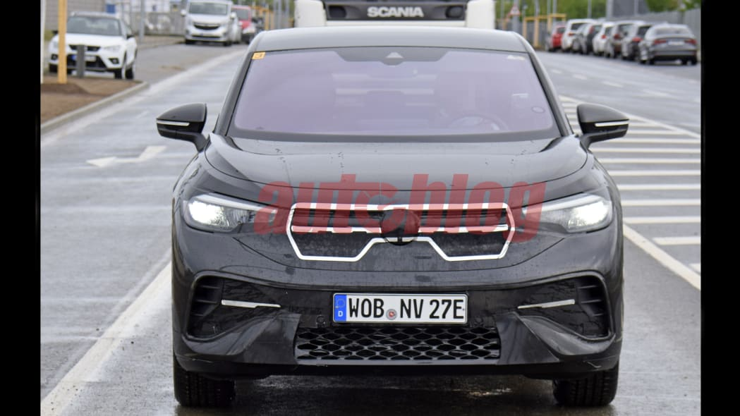 Volkswagen ID.4 electric crossover coupe prototype