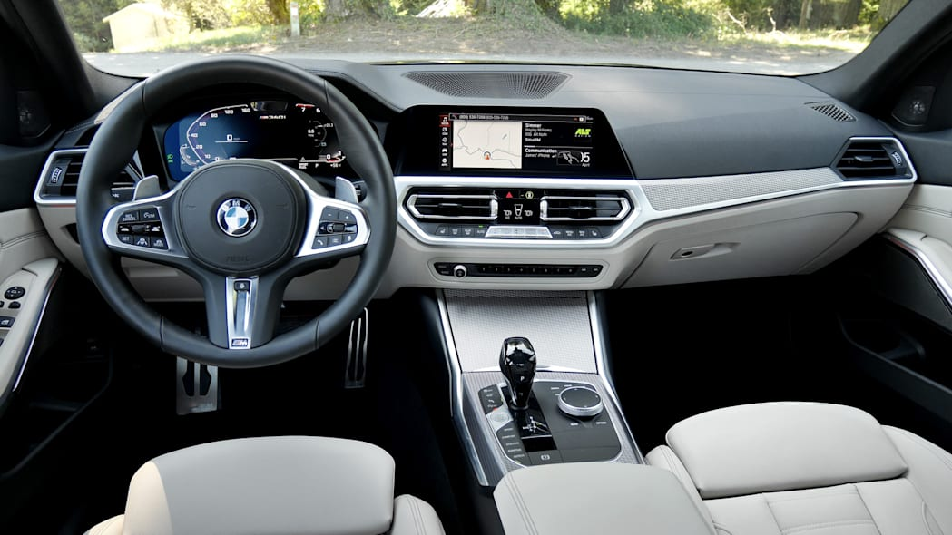 2020 BMW M340i dash