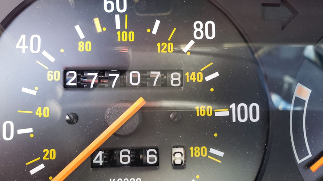 13 - 1987 Volvo 245 Wagon in Colorado Junkyard - photo by Murilee Martin