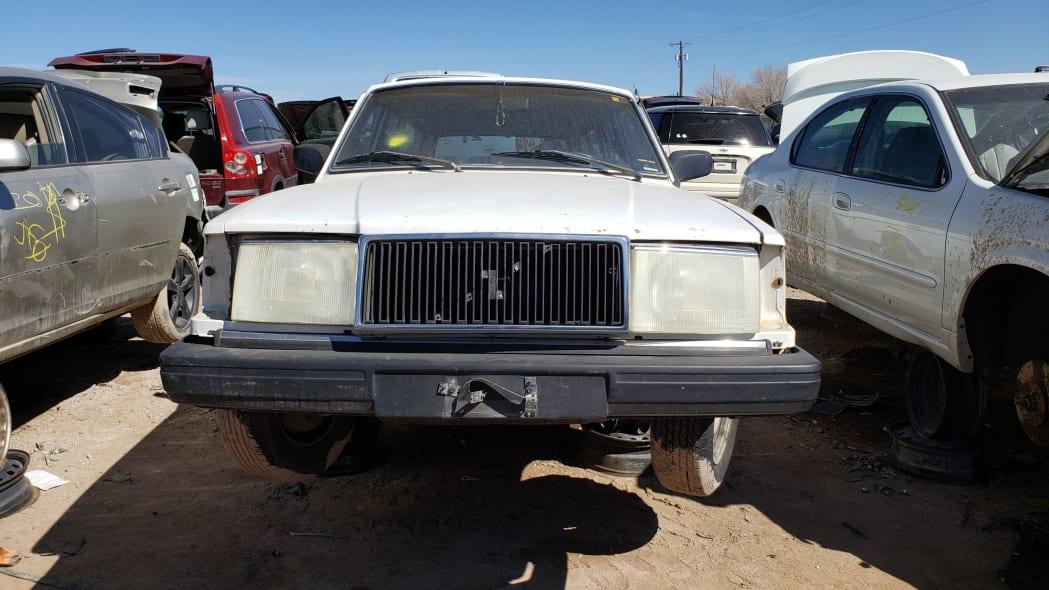 49 - 1987 Volvo 245 Wagon in Colorado Junkyard - photo by Murilee Martin
