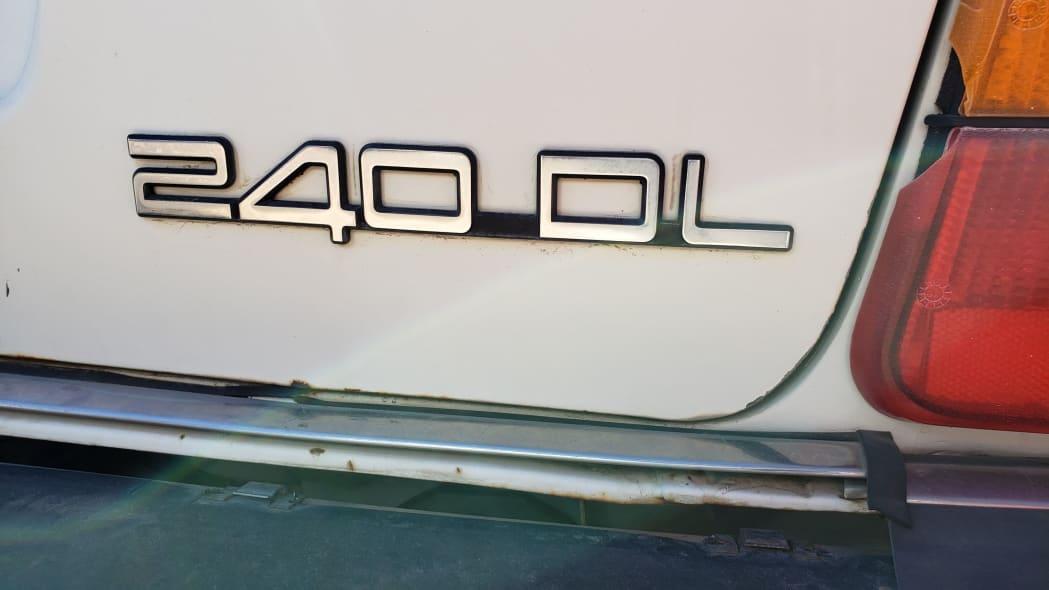 55 - 1987 Volvo 245 Wagon in Colorado Junkyard - photo by Murilee Martin