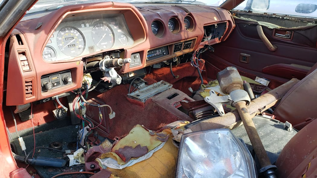 06 - 1980 Datsun 280ZX in Colorado Junkyard - photo by Murilee Martin