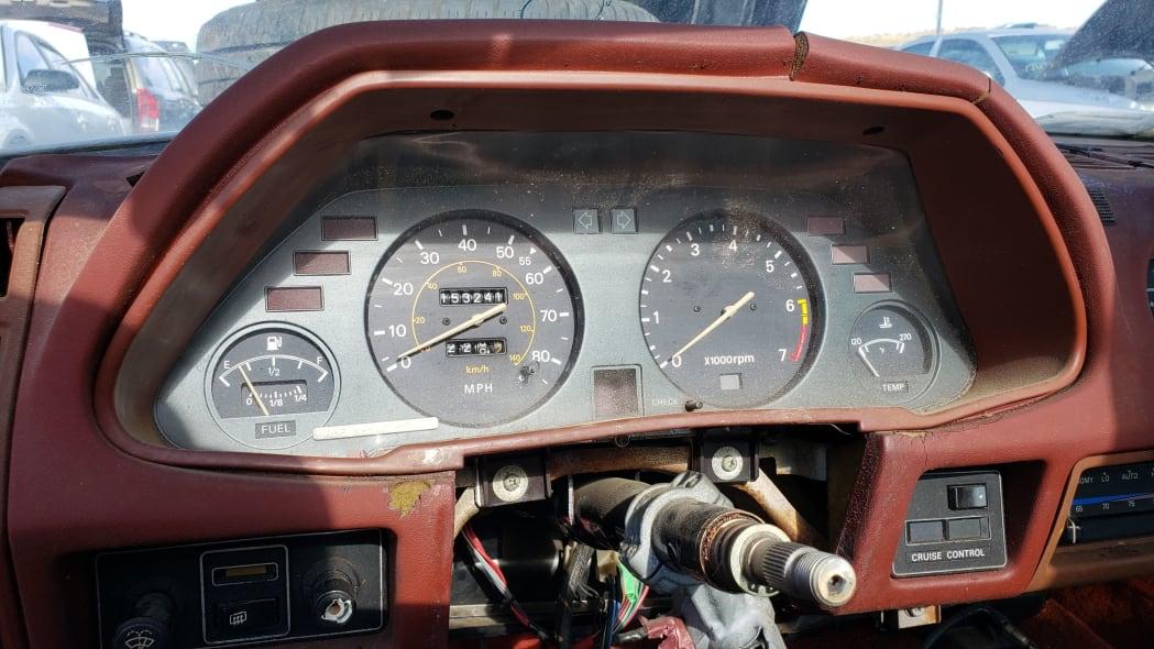 07 - 1980 Datsun 280ZX in Colorado Junkyard - photo by Murilee Martin