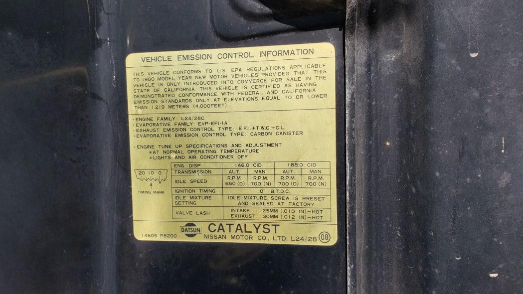 21 - 1980 Datsun 280ZX in Colorado Junkyard - photo by Murilee Martin