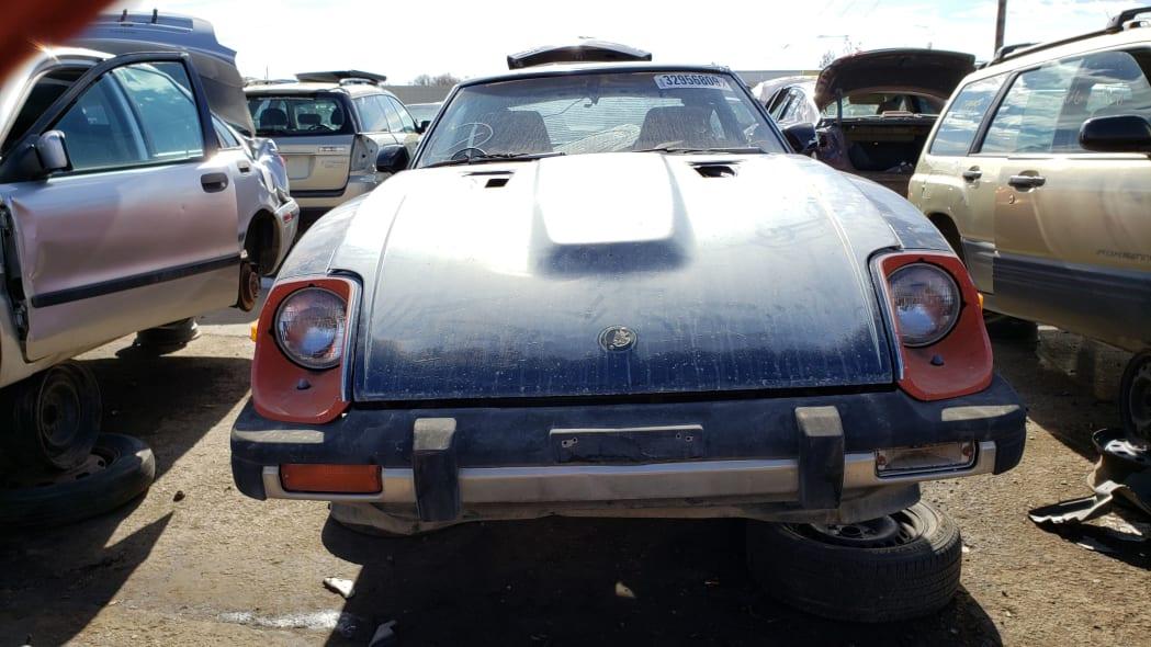 26 - 1980 Datsun 280ZX in Colorado Junkyard - photo by Murilee Martin