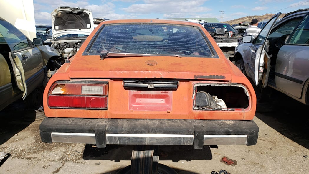 32 - 1980 Datsun 280ZX in Colorado Junkyard - photo by Murilee Martin
