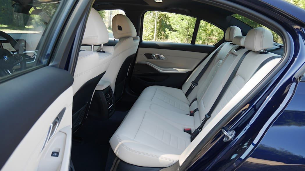 2020 BMW M340i back seat