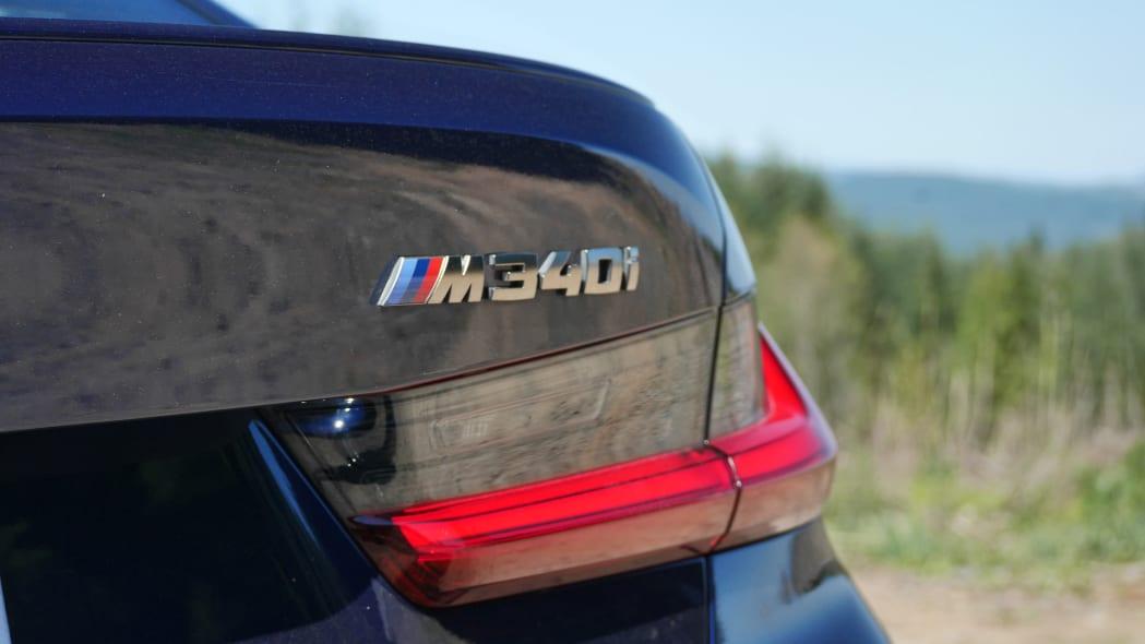 2020 BMW M340i badge