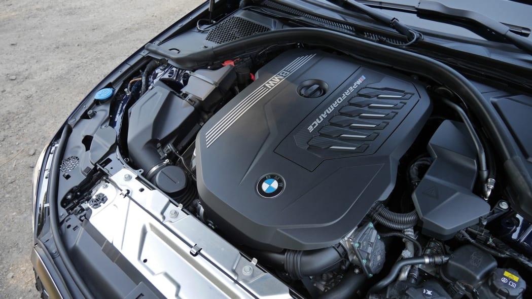 2020 BMW M340i engine