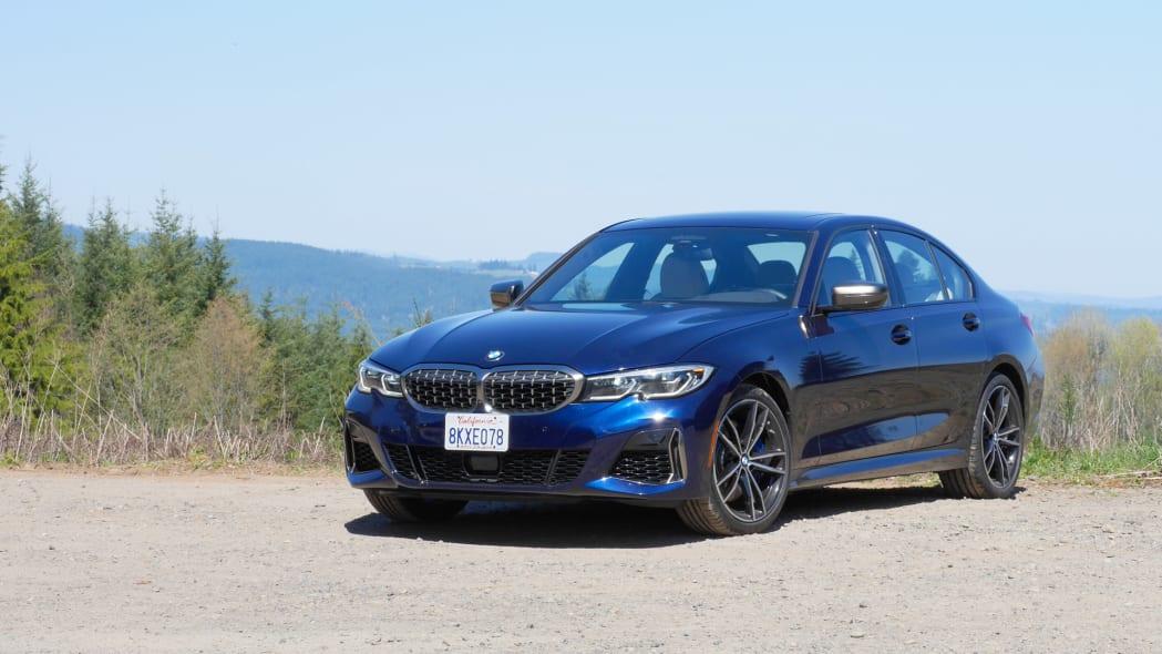 2020 BMW M340i front 4