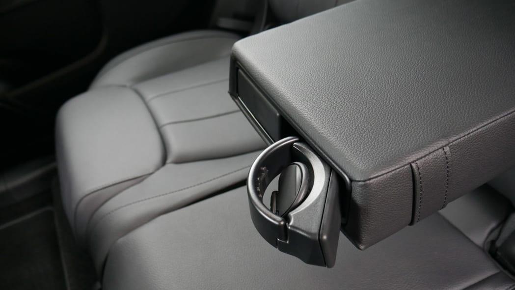 Mercedes GLB Interior Storage rear cupholder
